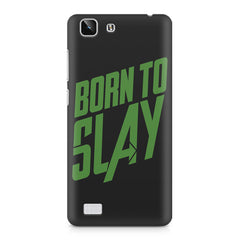 Born to Slay Design Vivo X5 hard plastic printed back cover