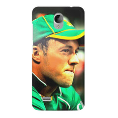 AB de Villiers South Africa  Vivo Y21L  printed back cover