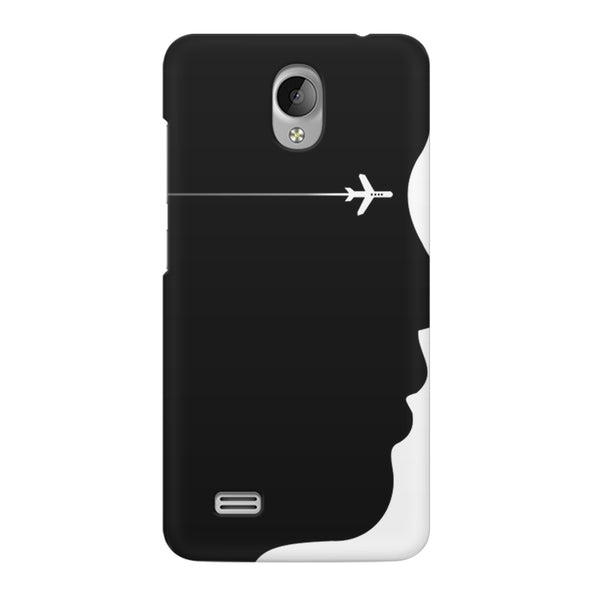 A vision to fly Vivo Y21L  printed back cover