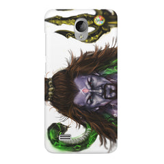 Shiva With Trishul  Vivo Y21L  printed back cover