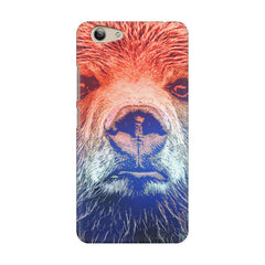 Zoomed Bear Design  Vivo Y53 hard plastic printed back cover
