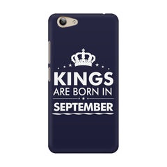 Kings are born in September design    Vivo Y53 hard plastic printed back cover