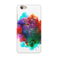Colourful parrot design Vivo Y53 hard plastic printed back cover