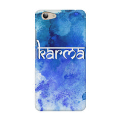 Karma Vivo Y53 hard plastic printed back cover