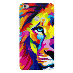Colourfully Painted Lion design,   Xiaomi Redmi Mi Max  printed back cover