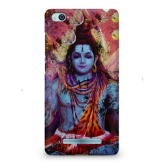 Shiva painted design Xiaomi Mi4i  printed back cover