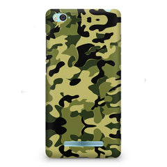 Camoflauge army color design Xiaomi Mi4i  printed back cover