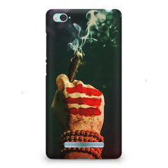 Smoke weed (chillam) design Xiaomi Mi4i  printed back cover