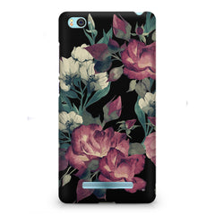 Abstract colorful flower design Xiaomi Mi4i  printed back cover
