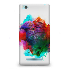 Colourful parrot design Xiaomi Mi4i hard plastic printed back cover