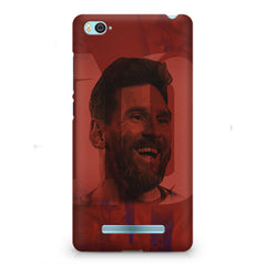 Messi jersey 10 blended design Xiaomi Mi4i hard plastic printed back cover