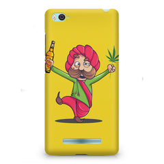 Sardar dancing with Beer and Marijuana  Xiaomi Mi4i hard plastic printed back cover
