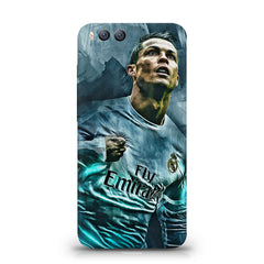Oil painted ronaldo  design,  Xiaomi Mi 6  printed back cover