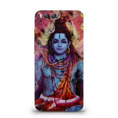 Shiva painted design Xiaomi Mi 6  printed back cover