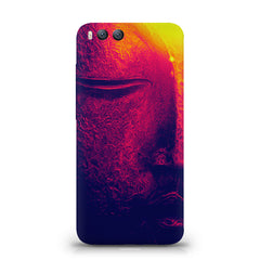 Half red face sculpture  Xiaomi Mi 6  printed back cover
