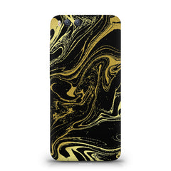 Golden black marble design Xiaomi Mi 6  printed back cover