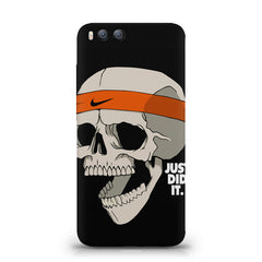 Skull Funny Just Did It !  design,  Xiaomi Mi 6  printed back cover