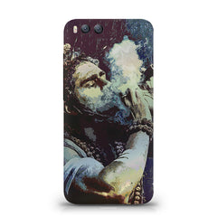 Smoking weed design Xiaomi Mi 6  printed back cover