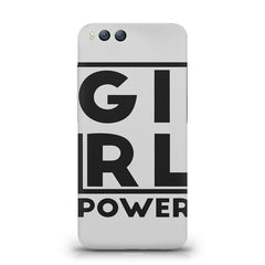 Girl power deisgn Xiaomi Mi 6  printed back cover
