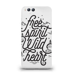 I am a free spirit design Xiaomi Mi 6  printed back cover