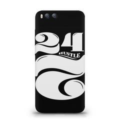 Always hustle design Xiaomi Mi 6  printed back cover