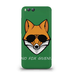 No fox given design Xiaomi Mi 6  printed back cover