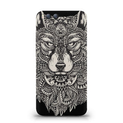 Fox illustration design Xiaomi Mi 6  printed back cover