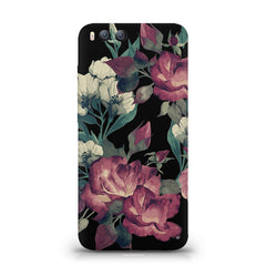 Abstract colorful flower design Xiaomi Mi 6  printed back cover