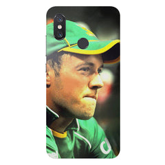 AB de Villiers South Africa  Xiaomi Mi 8 hard plastic printed back cover
