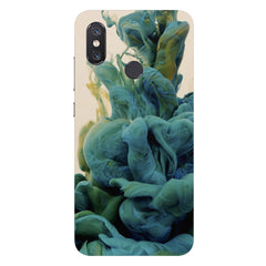 Coloured smoke design Xiaomi Mi 8 hard plastic printed back cover