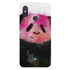 Polar Bear portrait design Xiaomi Mi 8 hard plastic printed back cover