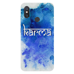 KarmaXiaomi Mi 8 hard plastic printed back cover