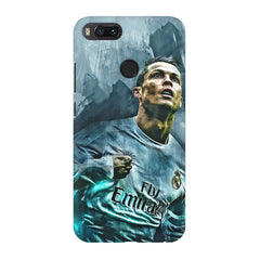 Oil painted ronaldo  design,  Xiaomi Mi 5x  printed back cover
