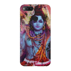 Shiva painted design Xiaomi Mi 5x  printed back cover