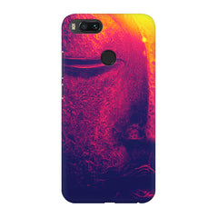 Half red face sculpture  Xiaomi Mi 5x  printed back cover