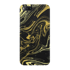 Golden black marble design Xiaomi Mi 5x  printed back cover