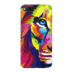 Colourfully Painted Lion design,  Xiaomi Mi 5x  printed back cover