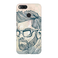 Virat Kohli Stylish Abstract Art design,  Xiaomi Mi4a  printed back cover