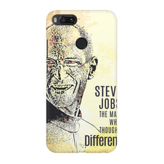 Steve Jobs Apple Art design,  Xiaomi Mi4a  printed back cover