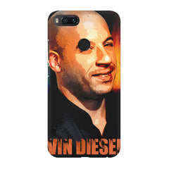 Vin Diesel Oil Painting Fanart design,  Xiaomi Mi4a  printed back cover