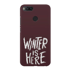 Winter is here Game of Thrones design Xiaomi Mi4a  printed back cover