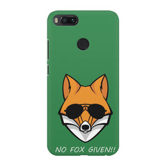 No fox given design Xiaomi Mi 5x  printed back cover