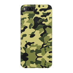 Camoflauge army color design Xiaomi Mi 5x  printed back cover