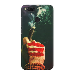 Smoke weed (chillam) design Xiaomi Mi 5x  printed back cover