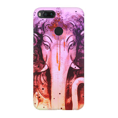 Lord Ganesha design Xiaomi Mi 5x  printed back cover