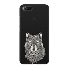 Fox illustration design Xiaomi Mi 5x  printed back cover