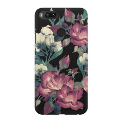 Abstract colorful flower design Xiaomi Mi 5x  printed back cover