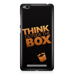 Think Outside The Box- Entrepreneur Lines design,  Xiaomi Redmi 3s printed back cover
