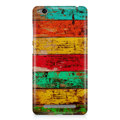 Strips of old painted woods  Xiaomi Redmi 3s printed back cover