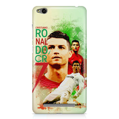 Cristiano Ronaldo Portugal collage design    Xiaomi Redmi 3s hard plastic printed back cover